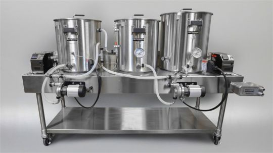 1 BBL Electric HERMS Brewing System